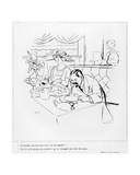 Eating, Illustration from 'L'Amour de l'Art', 1925 Giclee Print by Charles Laborde