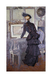 Daisy, Princess of Pless in the Artist's Studio, 1907 Giclee Print by Paul Cesar Helleu
