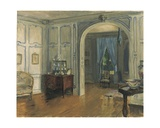 The Salon Carre of the Villa Trianon, c.1910 Giclee Print by Walter Gay
