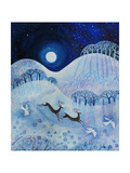 Snowy Peace, 2011 Giclee Print by Lisa Graa Jensen