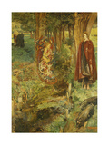 'Time and Chance Happeneth to All Alike', 1901 Giclee Print by John Byam Liston Shaw