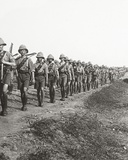 On the Long March Through Torrid Heat at Bagdad, 1917 Photographic Print by English Photographer