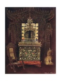 Asiatic Furniture from the Collection of Lord Curzon of Kedleston, G.C.S.I., D.C.L., Etc. Burmese… Giclee Print by Edwin John Foley