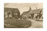 Abbey Farm in Preston Near Yeovil. Postcard Sent in 1913 Giclee Print by  English Photographer