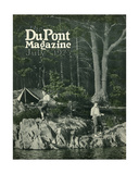 Pyralin Goes Fishing, Front Cover of the 'Dupont Magazine', July 1923 Giclee Print by  American School