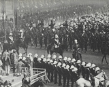 King George V at the State Entry into Delhi, December 7th 1911 Photographic Print by  English Photographer