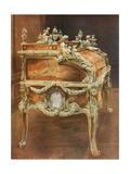 Bureau Du Roi Louis XV Giclee Print by Edwin John Foley