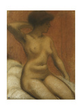 Seated Nude; Nu Assis, 1911 Giclee Print by Armand Rassenfosse