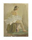 Ballerina, 1958 Giclee Print by Nina Ivanovna Shirokova