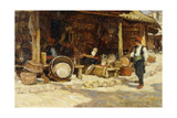 Metalworkers, Sarajevo, Bosnia, 1902 Giclee Print by Terrick Williams