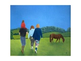 The Wanderers, 1992 Giclee Print by Ann Brain
