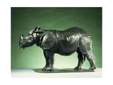 3 Year Old Rhinoceros; Rhinoceros de 3 Ans, c.1910 Giclee Print by Carlo Bugatti