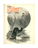Less Vermin - More Game, Front Cover of the 'Dupont Magazine', April 1923 Giclee Print by  American School