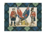 The 'Black Watch,' or Forty-Second Royal Highlanders Giclee Print by  English School