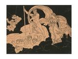 Juno and Aeolus Giclee Print by Bartolomeo Pinelli