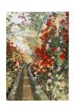 The Covered Way to the Chapel, Laeken Giclee Print by Mima Nixon