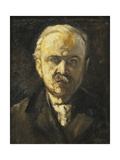 Self-Portrait; Selbstbildnis, c. 1924 Giclee Print by Lesser Ury