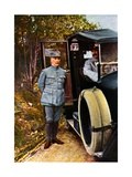 General Philippe Petain, September 1916 Giclee Print by Jules Gervais-Courtellemont