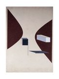 Proun N 90 (Ismenbuch), 1925 Giclee Print by Eliezer Markowich Lissitzky