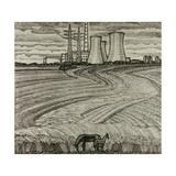Starooskol Land, 1966 Giclee Print by Masabikh Akhunov