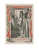 Lady Macbeth Giclee Print by Robert Anning Bell