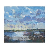 Southwold Evening, 2012 Giclee Print by Christopher Glanville