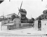The Moulin de La Galette, Paris, c.1900 Photographic Print by Eugene Atget