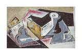Cubist Composition; Composition Cubiste, c.1918 Giclee Print by Maria Blanchard