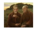 Life's Sunset Gicléetryck av Edmond Theodor van Hove