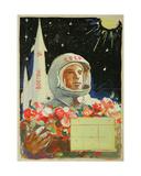 Yurii Gagarin, 1961 Giclee Print by Vadim Petrovich Volikov