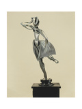 Dancer; Danseuse, 1934 Giclee Print by Pablo Gargallo