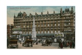 Charing Cross Hotel, London. Postcard Sent on 16 December 1913 Giclee Print by  English Photographer
