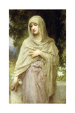 Meditation, 1902 Giclee Print by William Adolphe Bouguereau
