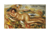 Nude Woman on the Grass; Femme Nue a l'Herbe, 1915 Giclee Print by Pierre-Auguste Renoir