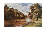 River Doon, Scotland Giclee Print by Francis S. Walker