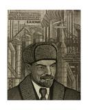 Lenin on Heavy Industry, 1980 Giclee Print by Masabikh Akhunov