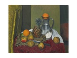 Apples and a Pineapple, 1923 Giclee Print by Felix Edouard Vallotton
