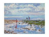 Low Tide Charmouth, 2012 Giclee Print by Christopher Glanville