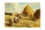 The Gleaners, 1912 Giclee Print by Léon Augustin L'hermitte