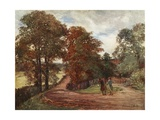Milfield Lane, Highgate Giclee Print by Francis S. Walker