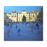 Skaters, Somerset House, 2012 Giclee Print by Andrew Macara