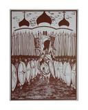 Defending Russia, 1957 Giclee Print by Masabikh Akhunov
