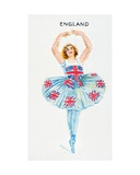 England, Cigarette Card, 1915 Giclee Print by  English School