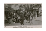 London Policeman. Postcard Sent 4 July 1913 Giclee Print by  English Photographer