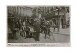 London Policeman. Postcard Sent 4 July 1913 Giclee Print by  English Photographer