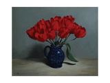 Red Tulips, 2010 Giclee Print by James Gillick