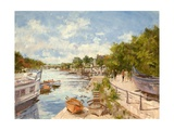 The Thames at Richmond, 2012 Giclee Print by Christopher Glanville