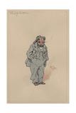 The Lazy Gentleman, c.1920s Giclee Print by Joseph Clayton Clarke