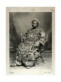 Tegumada Ademola, England, 1904 Giclee Print by Louis Adolph Langfier