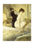 L'Intimite, 1906 Giclee Print by Albert Guillaume